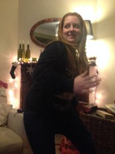 Lucie dancing