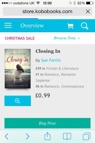 closing in kobo number 1